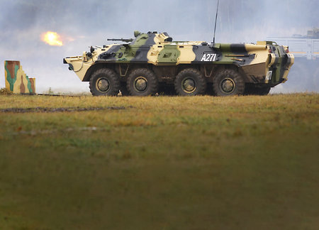 Russia tests new type of ammo for armored vehicles