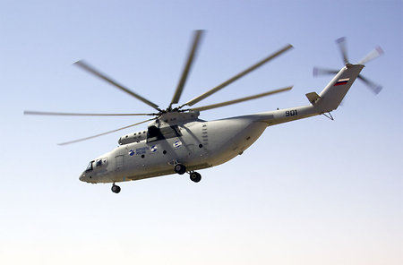 Algeria to receive 14 Russian Mi-62T2 heavy helicopters