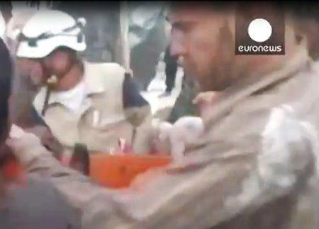 Euronews channel caught in a fake on Russian military operation in Syria