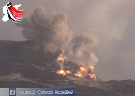Russian hellfire for terrorists in Syria (video)