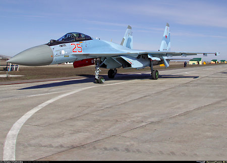 Su-35 takes the world stage