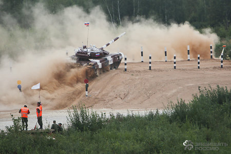 A new type of shell for the Tank biathlon is developed In Bauman MSTU