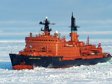 'Sovietskiy Soyuz' icebreaker might be remade into a drifting Arctic headquarters
