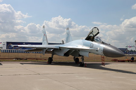 Russia sends a quad of brand-new Su-35S to Syria