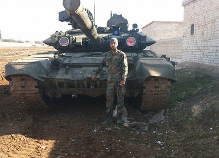 'Vladimir' joins the fight. Prospects for the T-90 in Syrian conflict