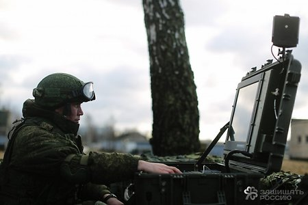 Airborne Forces apply the 'Barnaul-T' AD system for the first time at the exercise near Pskov