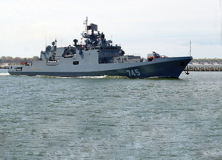 'Admiral Grigorovitch' frigate passed to the Russian Navy