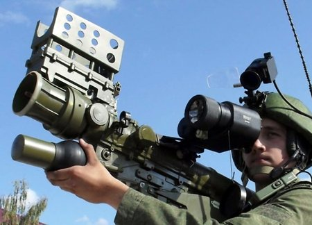 Brand new 'Verba' man-portable air defense systems to be promoted abroad