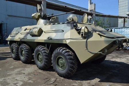 A picture of the new BTR-87 armored personnel carrier found on the web