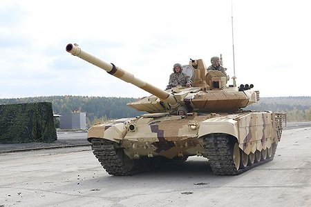 T-90 tank might be produced in India