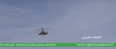 Ka-52 'Alligators' set to combat in Syria (clip)