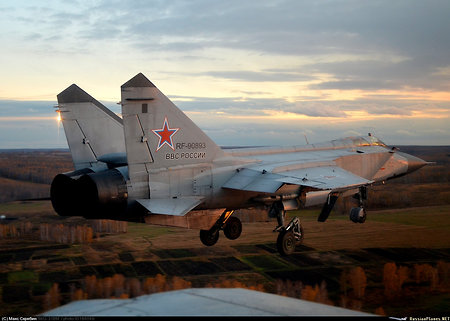 Mig-31 beat the non-stop flight record