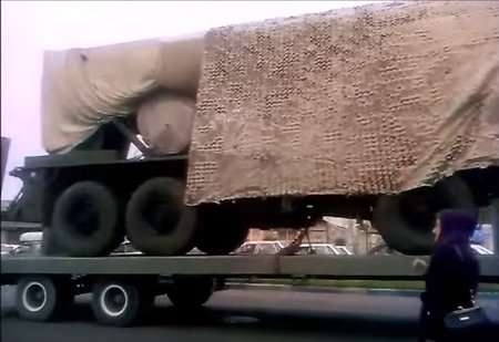 S-300 systems in Iran appear on the net