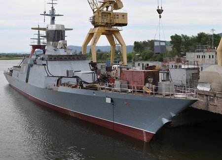 'Rezkiy' corvette equipped with 'Kalibrs' to be keel-laid at the Amur shipbuilding plant