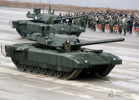 Russian Defense Ministry orders first 100 'Armata' tanks
