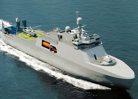 Brand new Project 23550 patrol ice-breakers to be built for the Russian Navy
