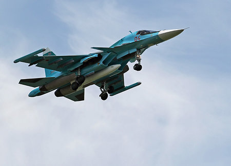 Russian Far East to host Su-34 for the first time