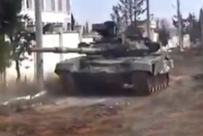 T-90 in Syria
